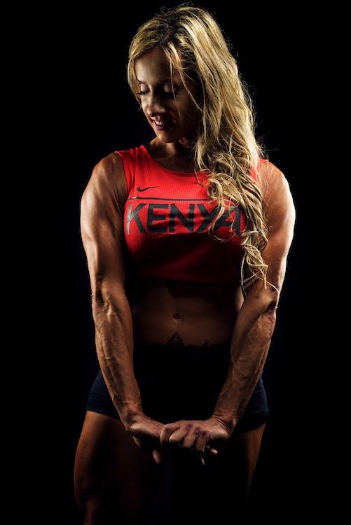 atleet, bodybuilden, bodybuilder