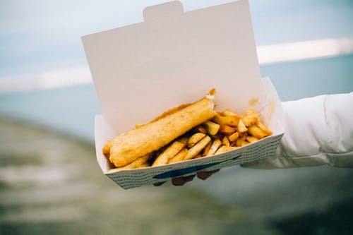 Kostnadsfri bild av fisk och pommes frites, måltid, mat, pommes frites