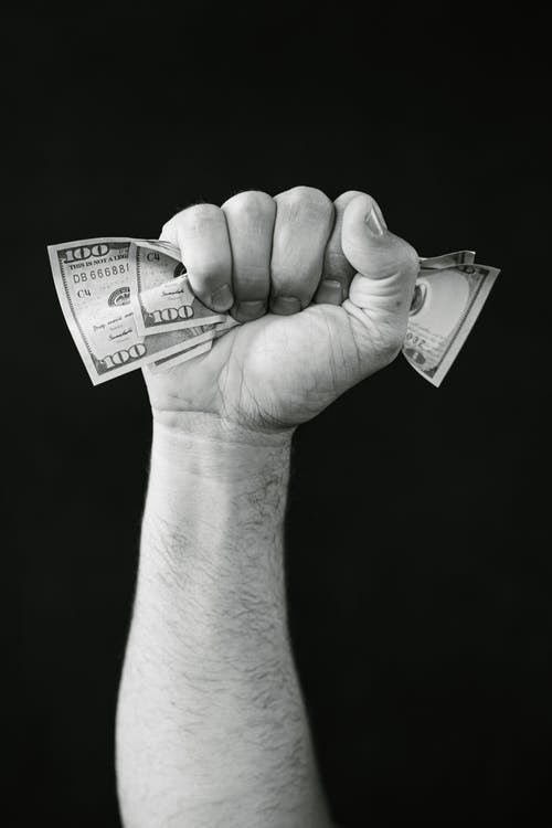 Free stock photo of american currency, cash, dollars
