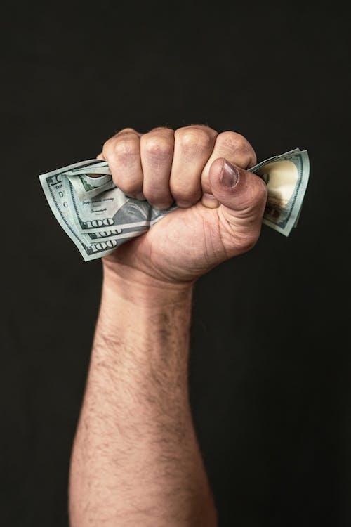 Person Holding 100 Us Dollar Bill