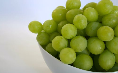 Free stock photo of green grapes