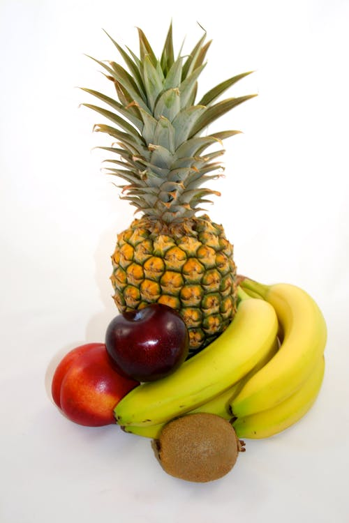 Photos gratuites de aliments, ananas, apple, banane
