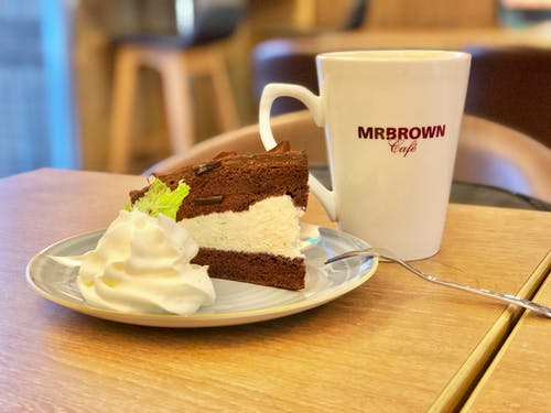 Free stock photo of cake, coffee, coffee shop