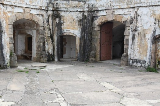 Free stock photo of old, fort