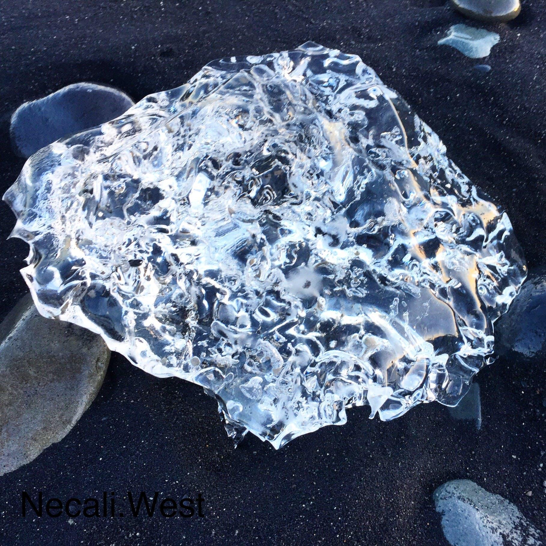 Free stock photo of beach, diamond, glacier, iceland