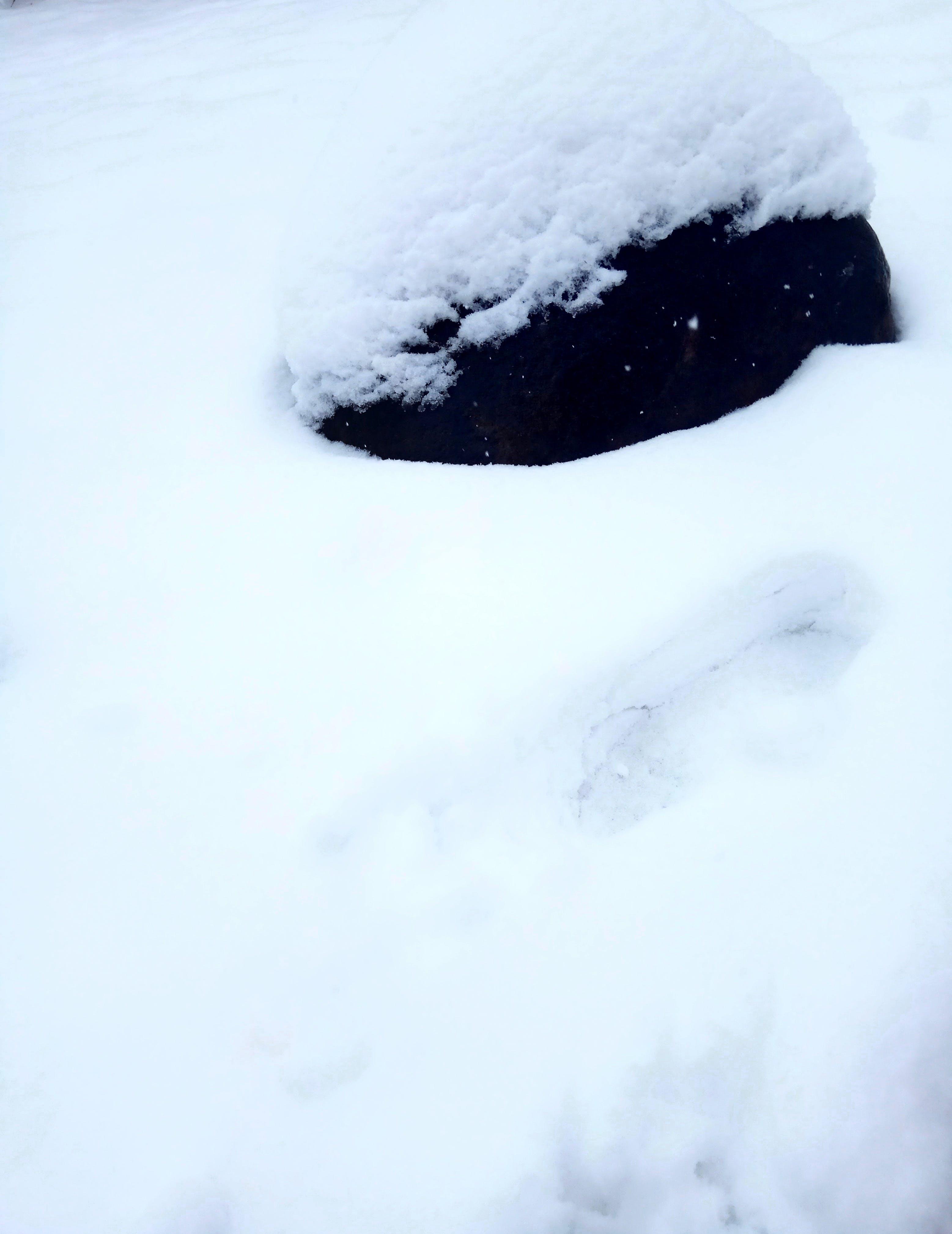 Snow stone