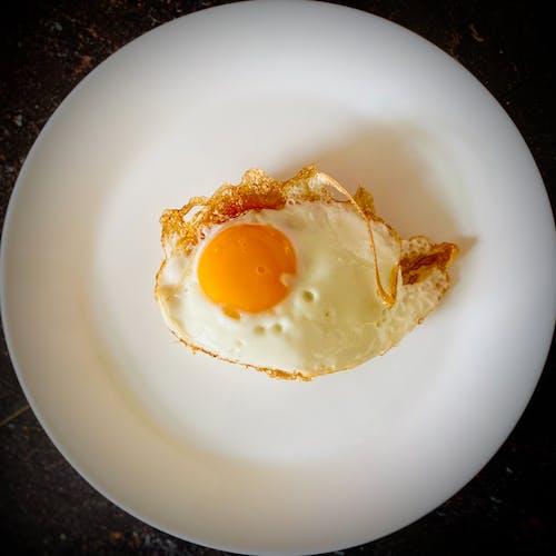 Free stock photo of egg, fried egg, sunny side up