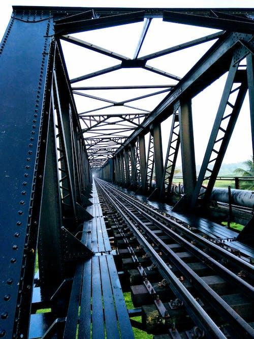 Imagine de stoc gratuită din apropiere, căi ferate, de metal, fier
