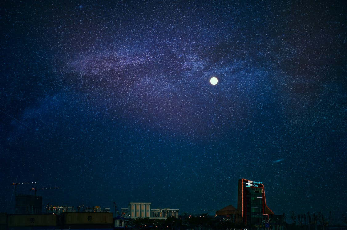 Landscape Photography of Cityscape during Nighttime