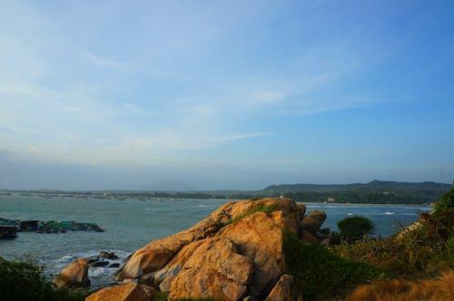 Gratis stockfoto met blauwe lucht, boot, heldere lucht, hemel