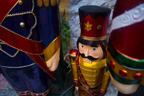 Free stock photo of christmas, nutcracker, statue, toy