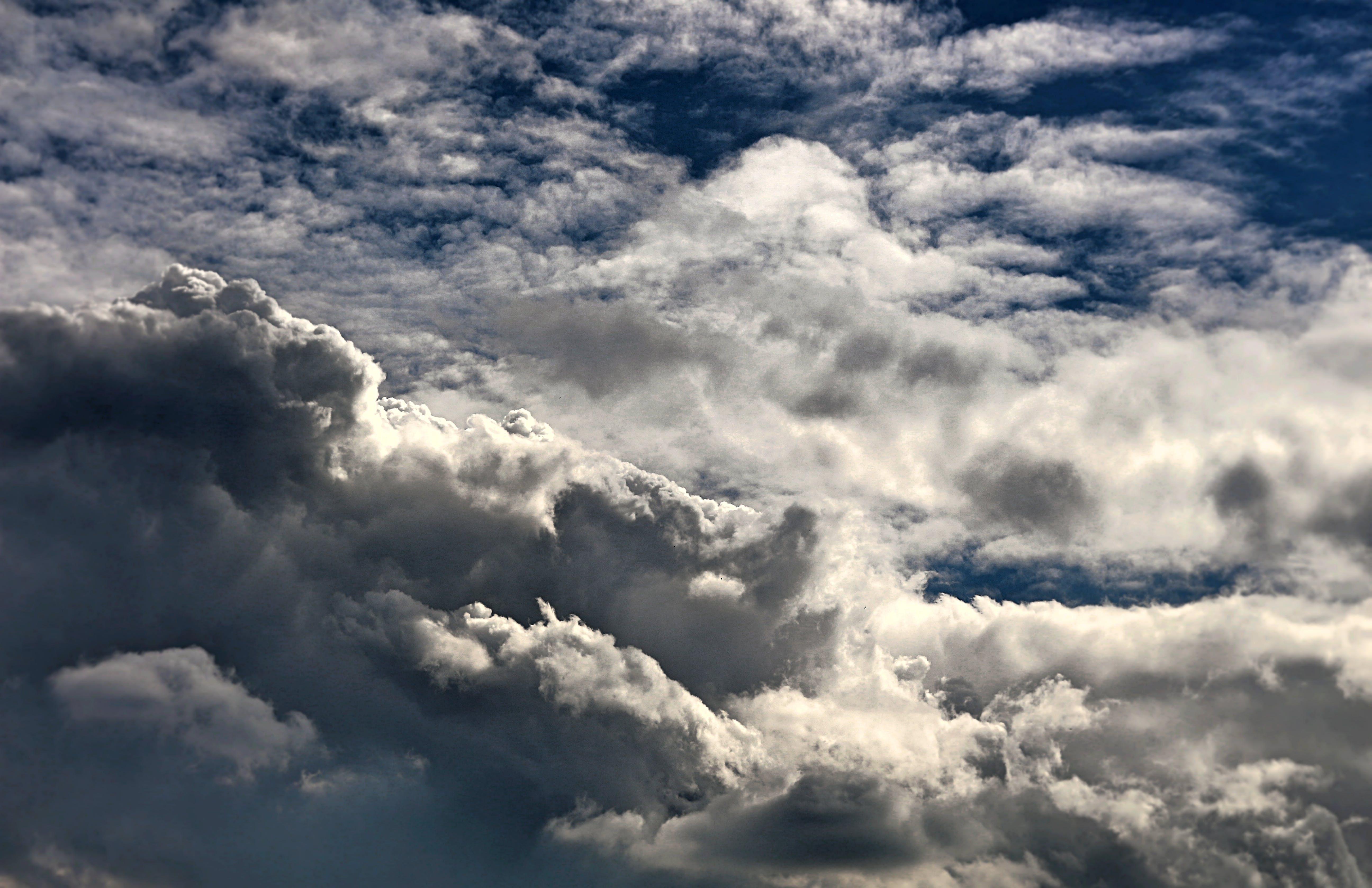 Kostenloses Stock Foto zu bewölkt, dramatisch, geschwollen, himmel