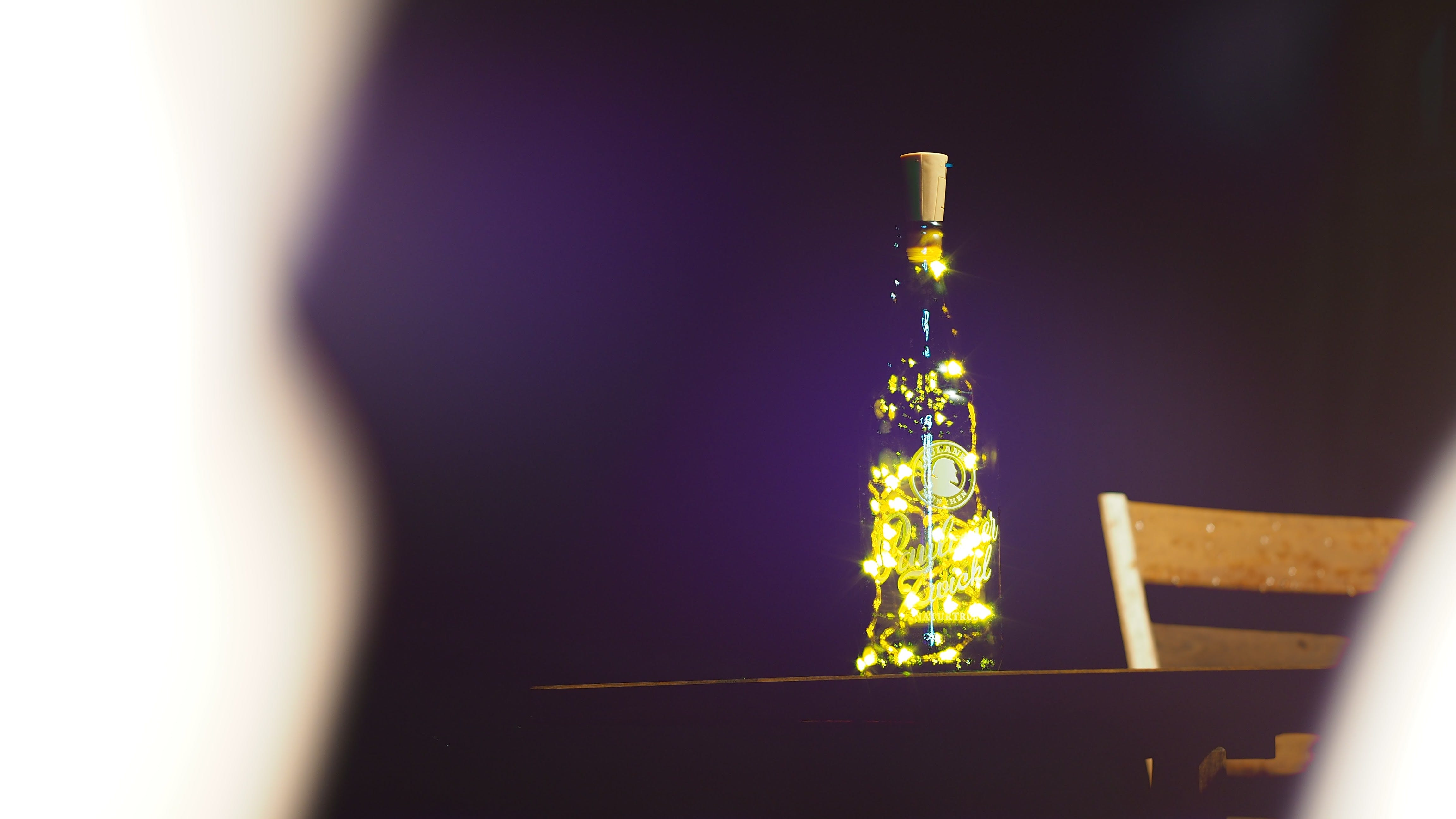 Free stock photo of bottles, night lights