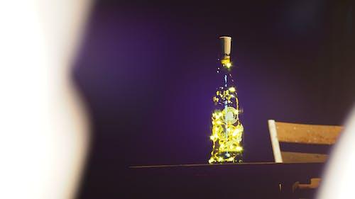 Základová fotografie zdarma na téma lahve, noční světla
