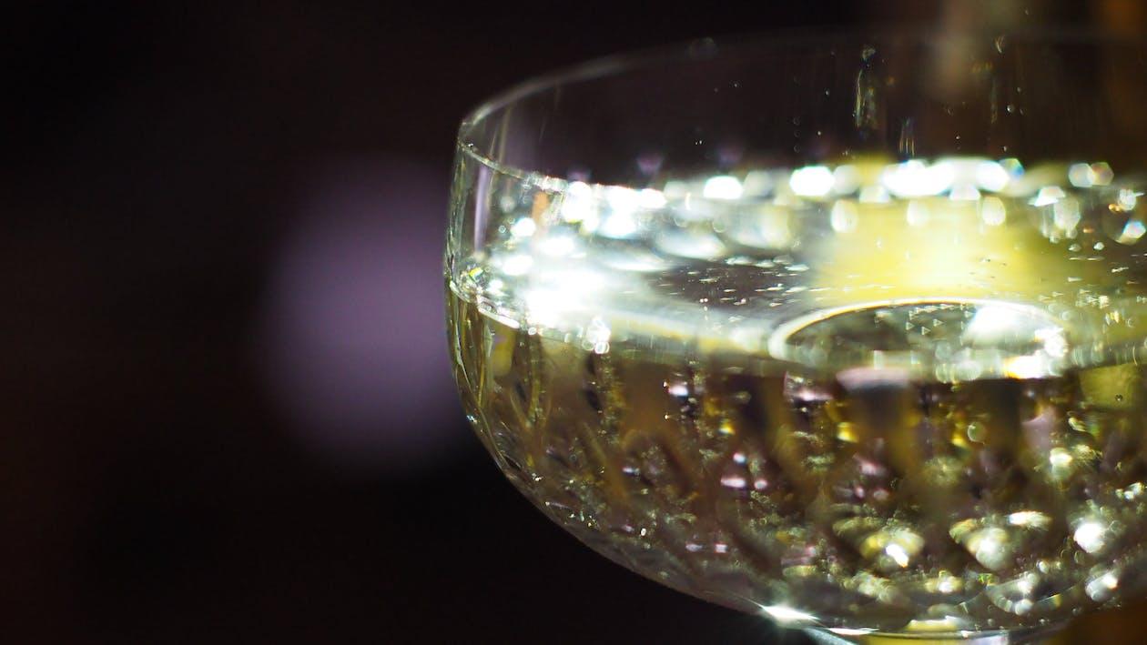 párty, pití, šampaňské