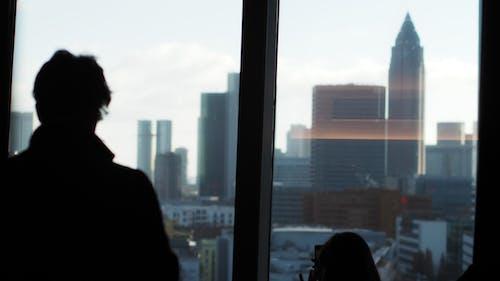 Fotobanka sbezplatnými fotkami na tému Frankfurt, mrakodrap, mrakodrapy, výhľad na mesto