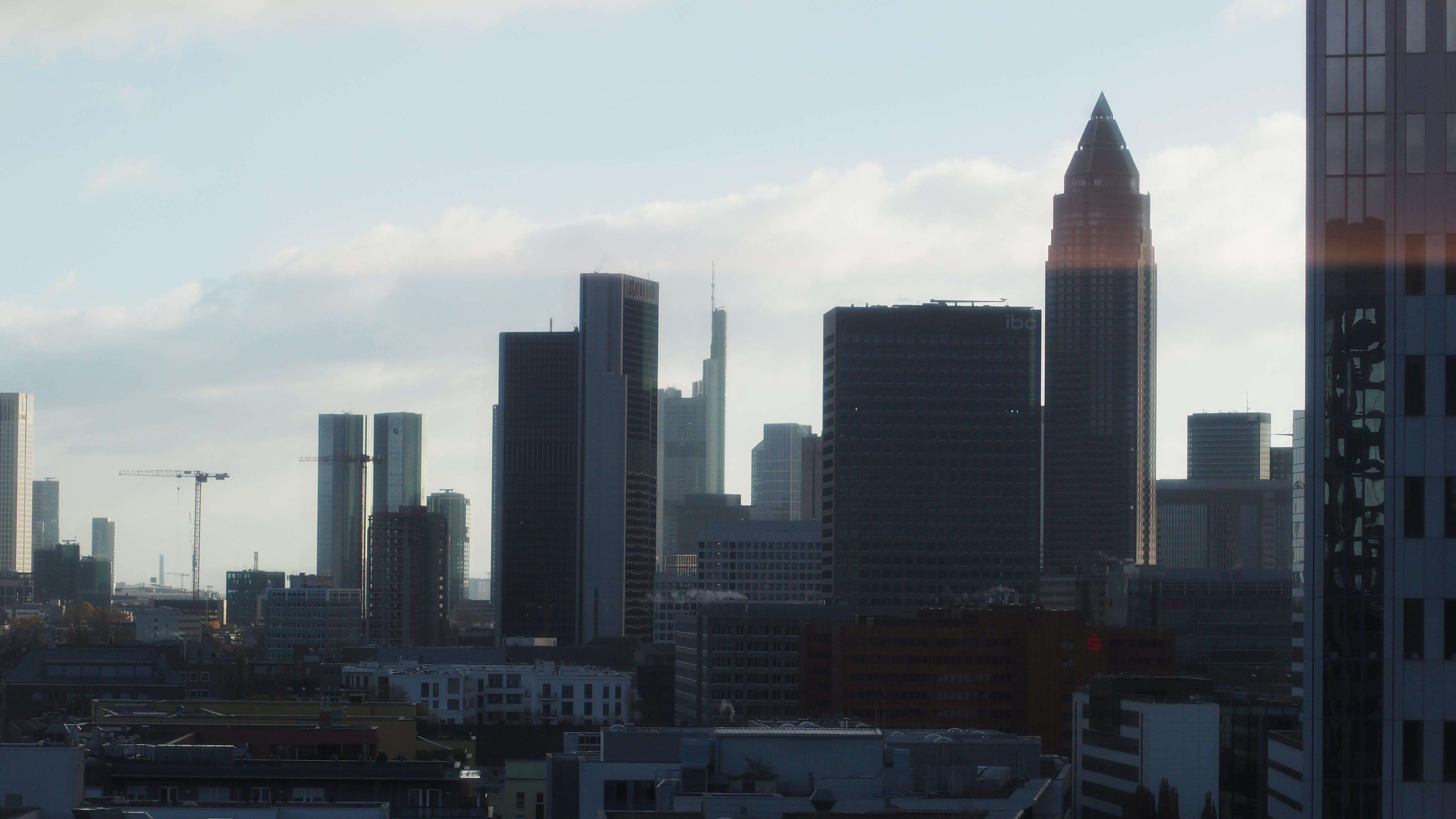 Free stock photo of city view, frankfurt, skyscraper, skyscrapers