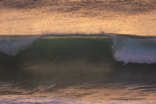 Gratis arkivbilde med bølger, daggry, h2o