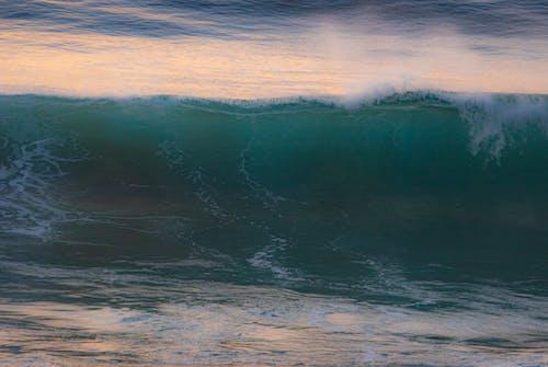Gratis arkivbilde med bølge, bølger, daggry