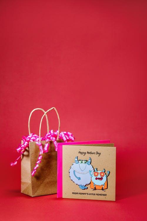 Foto profissional grátis de cartão de dia das mães, dons, espaço do texto