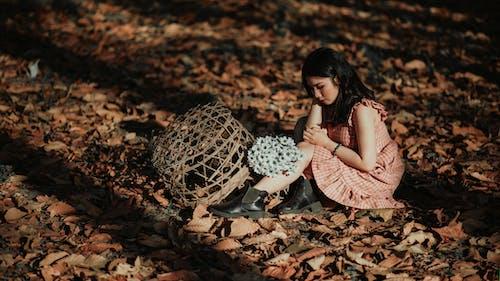Darmowe zdjęcie z galerii z bukiet, dziewczyna, kobieta, krajobraz