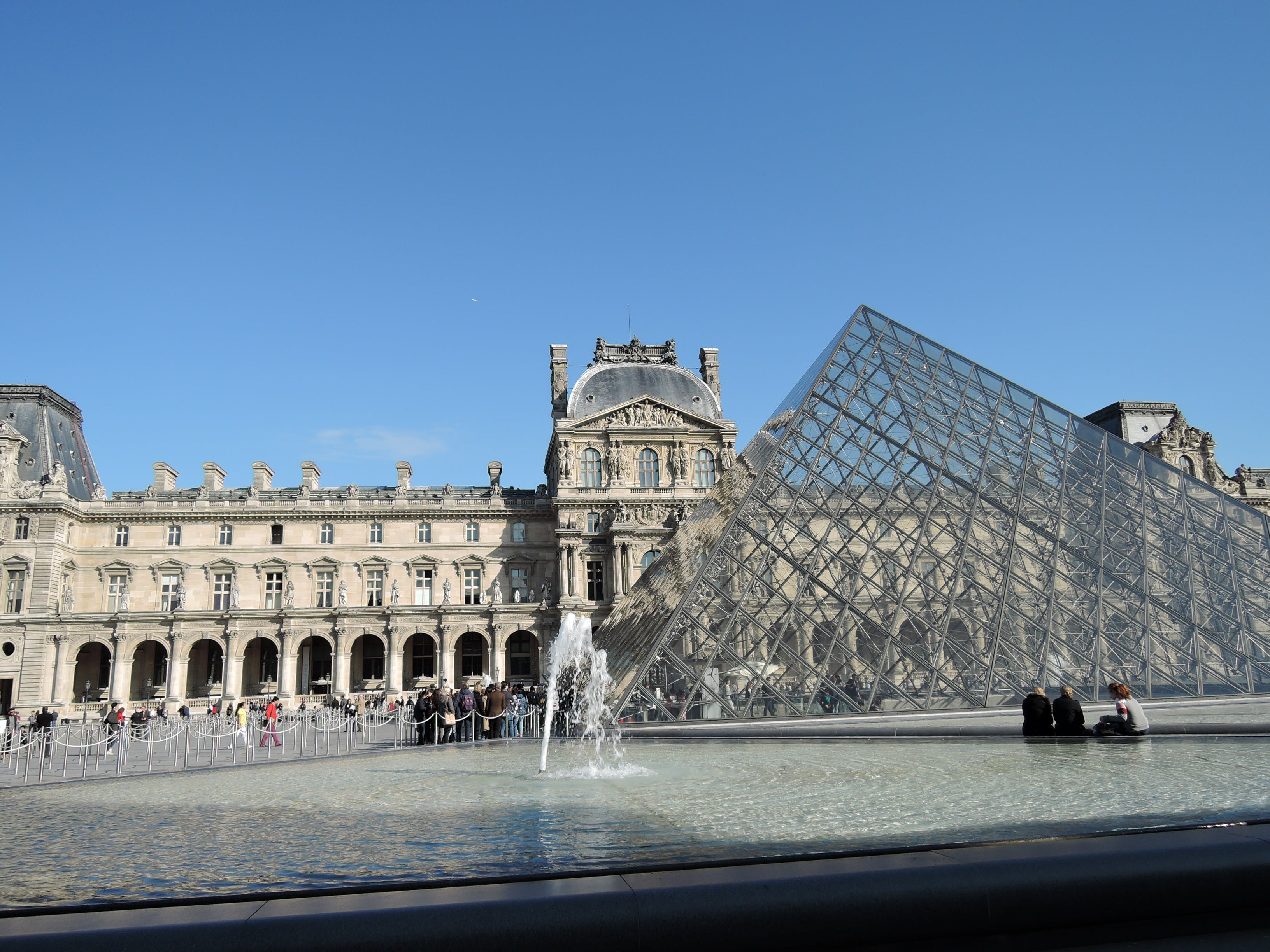 Free stock photo of louvre, paris