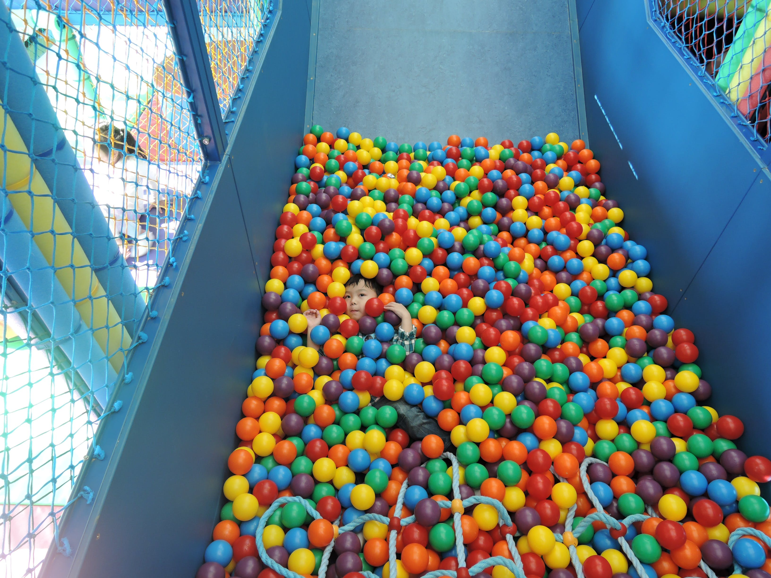 Free stock photo of ball pit, balls