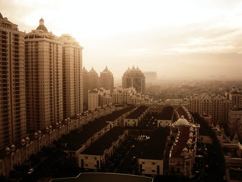 Free stock photo of apartment, apartment building, building, mall of indonesia