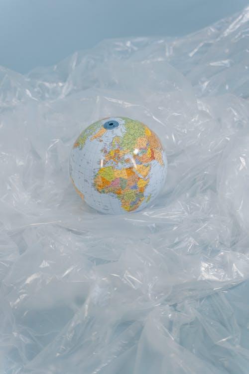 A Globe on a Plastic