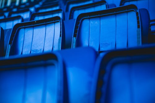 Free stock photo of audience, auditorium, backgrounds, bleachers