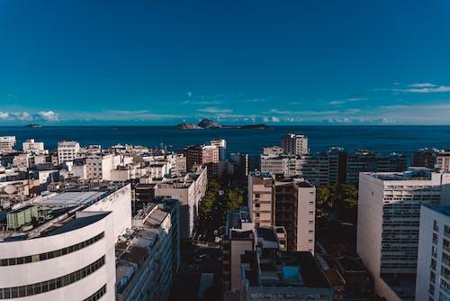 Безкоштовне стокове фото на тему «краєвид, місто, океан»