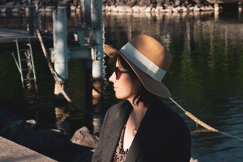 모자, 빈티지, 색조의 무료 스톡 사진