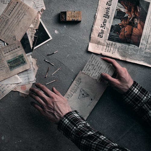 人, 商業, 報紙 的 免費圖庫相片