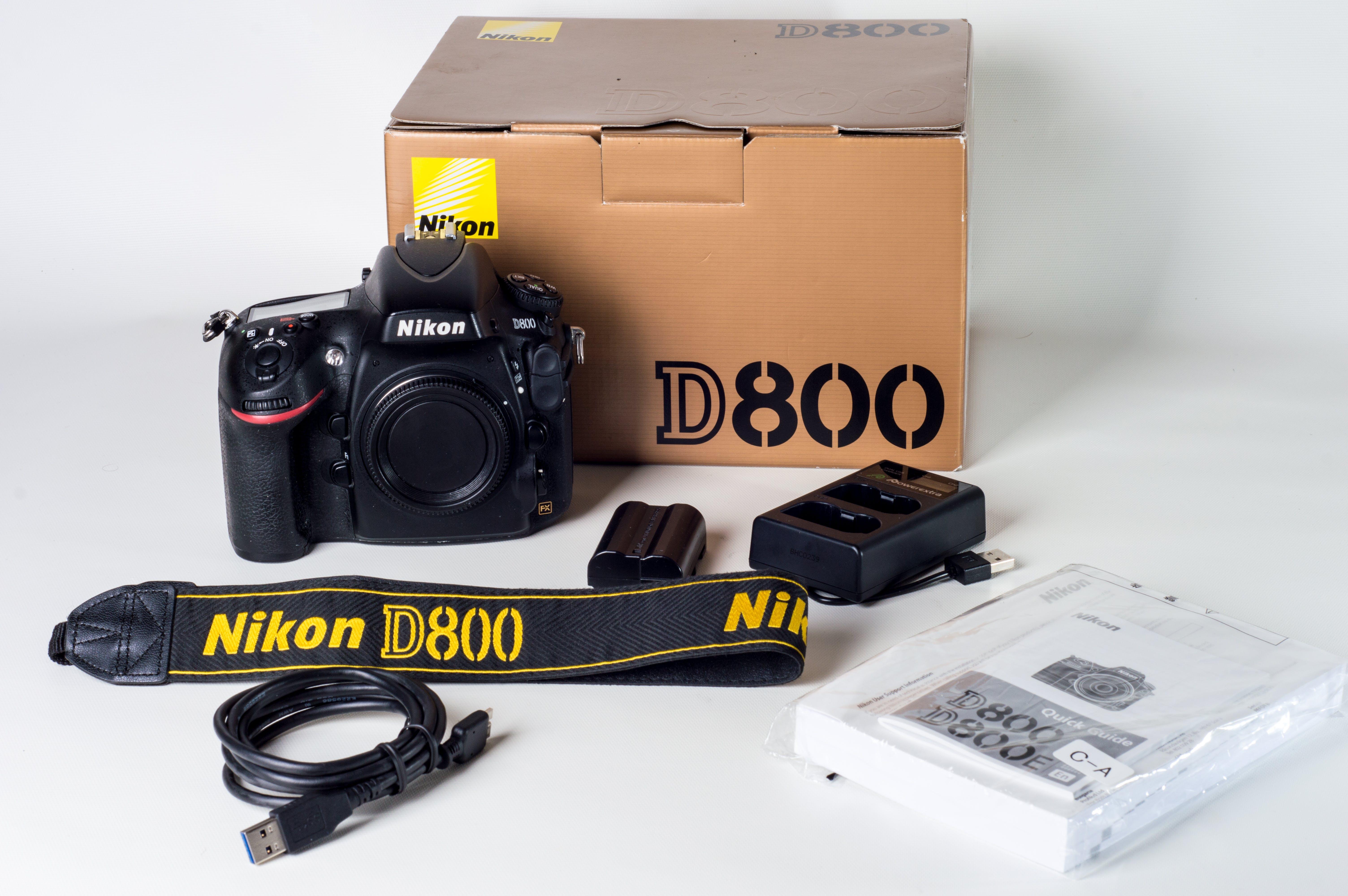 Nikon D800 Set