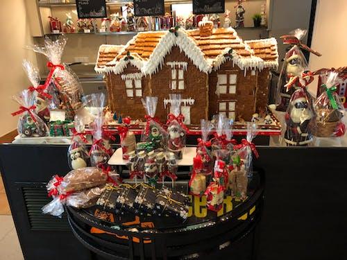 姜饼屋, 聖誕, 薑餅 的 免费素材照片