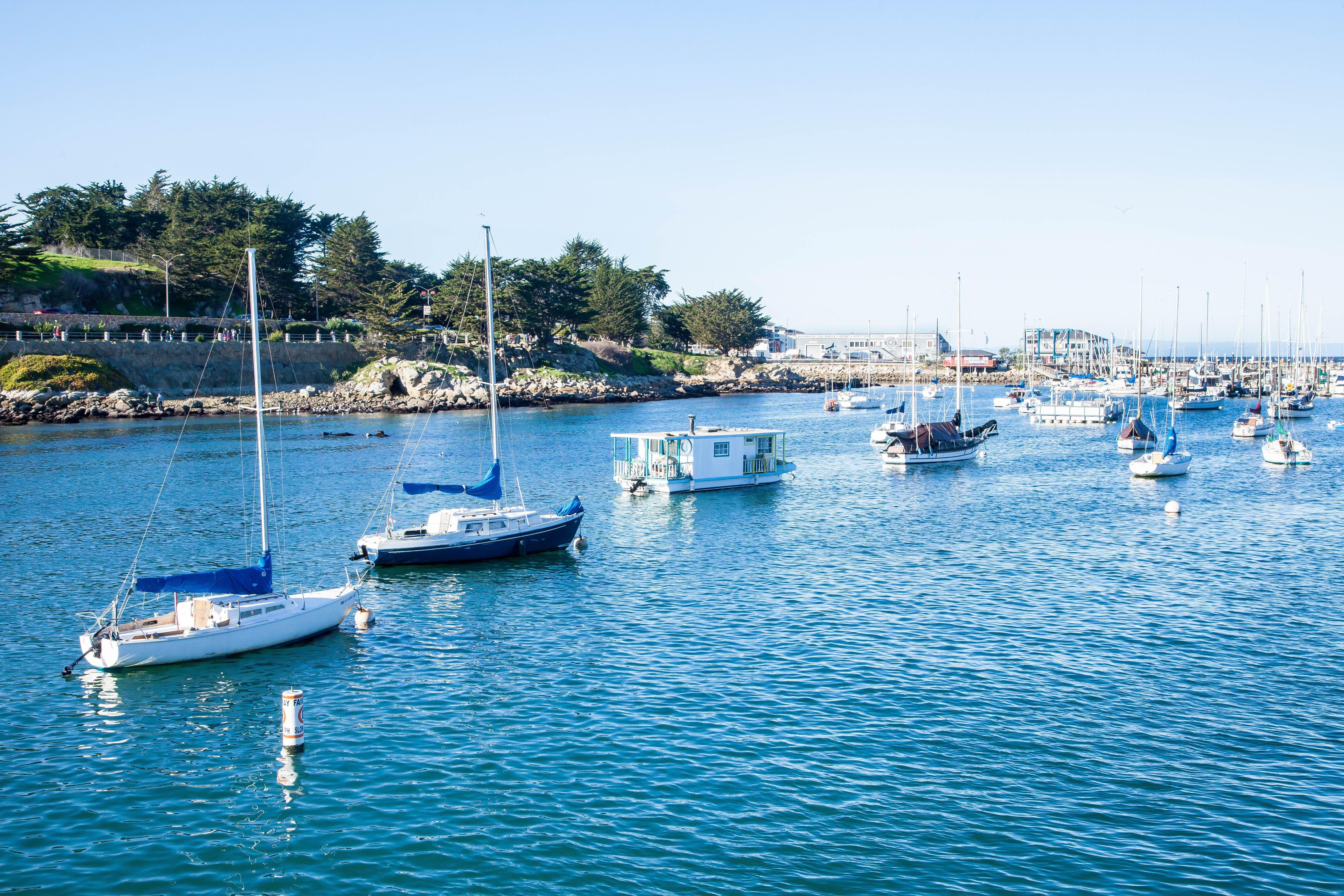Бесплатное стоковое фото с вода, гавань, лодки, море