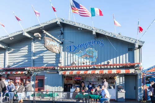 Gratis arkivbilde med Amerikanske flagg, flagg, restauranter