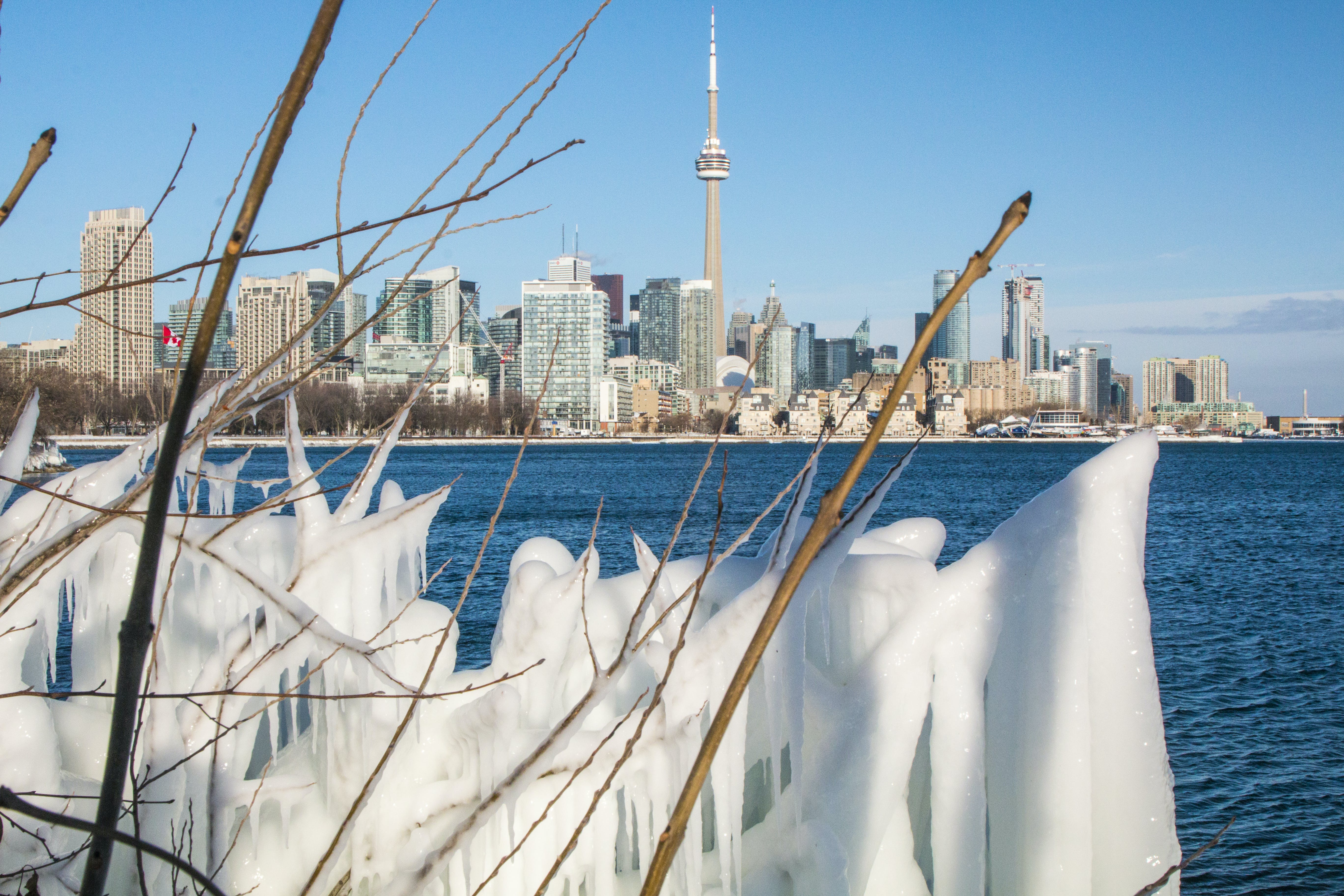 Free stock photo of canada, frozen, ice, lake