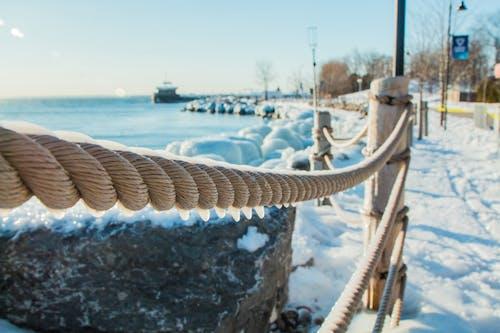 Gratis lagerfoto af Canada, forkølelse, fægte, hav