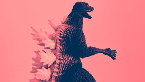 Free stock photo of comic, fotografia, godzilla