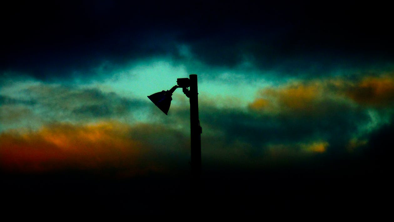 Atardecer, fotografia, Sombras
