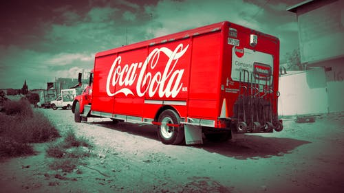 Free stock photo of camion, fotografia, Sodas