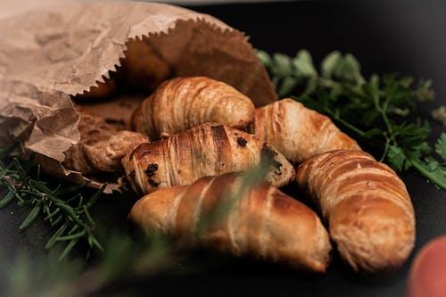 Ilmainen kuvapankkikuva tunnisteilla croissantit, herkullista, lähikuva