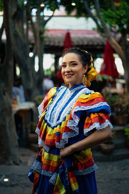 Imagine de stoc gratuită din china poblana, concert, costum