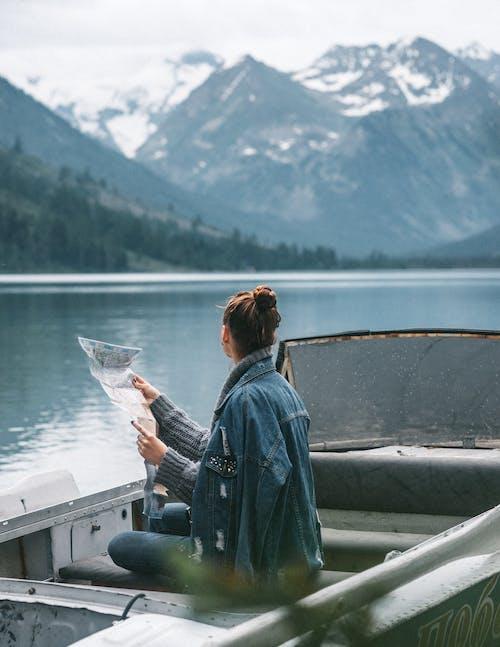 Gratis stockfoto met alleen, anoniem, aqua