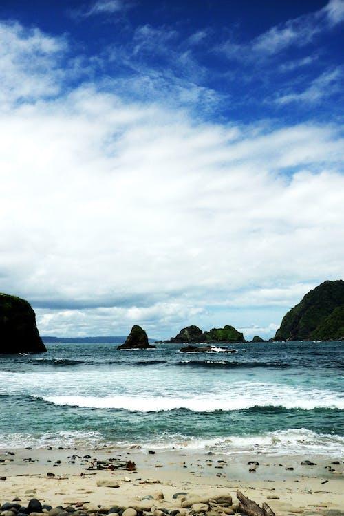 Gratis stockfoto met blauw, blikveld, Golf, grind