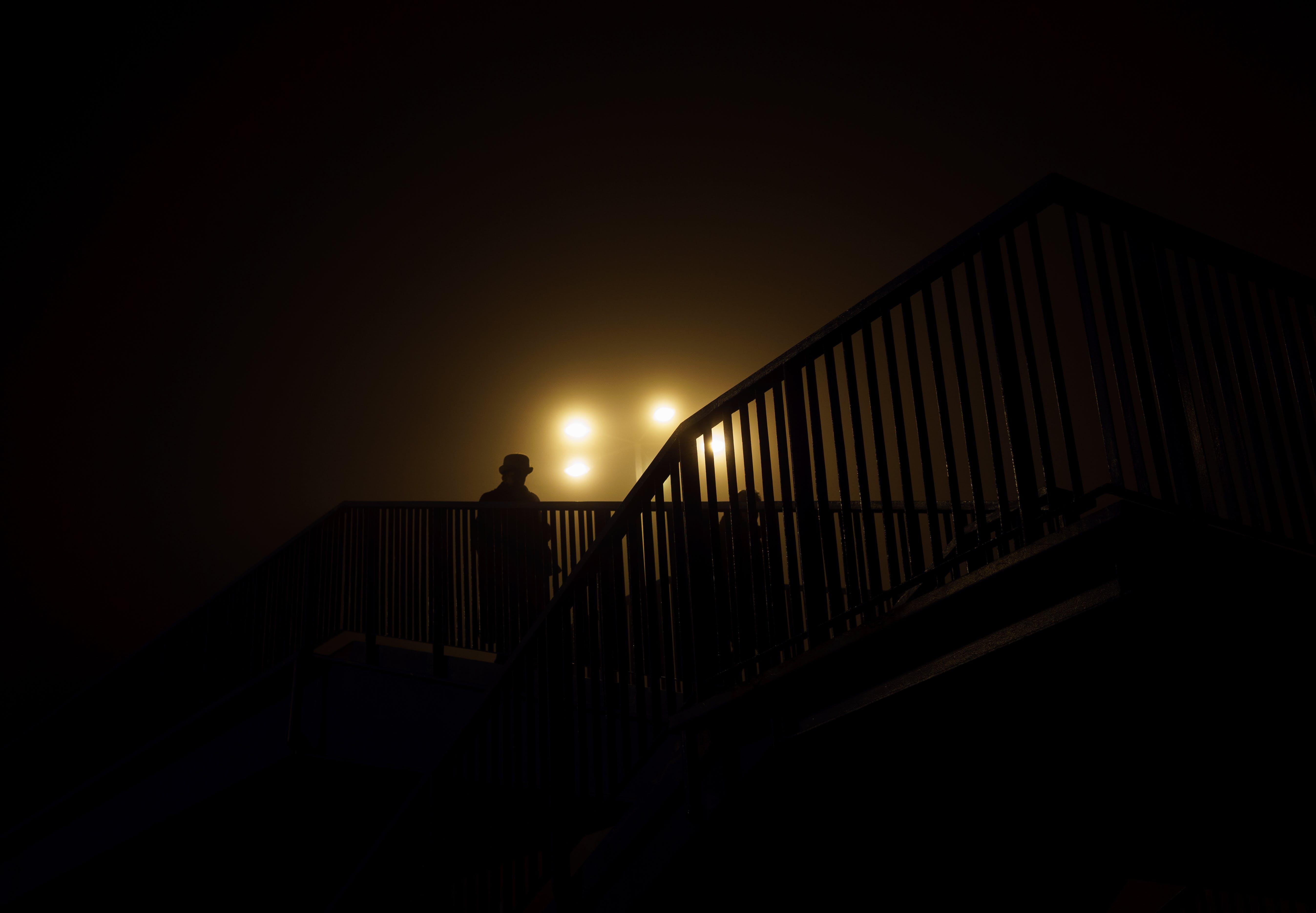 Black Fence Photo