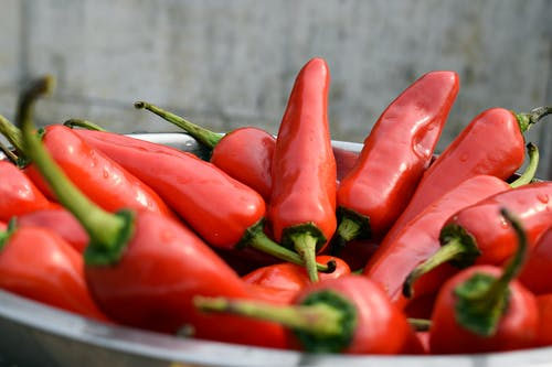 Free stock photo of chilies, chilli, cooking