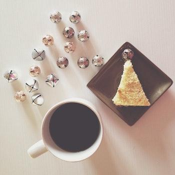 Free stock photo of bread, food, caffeine, coffee