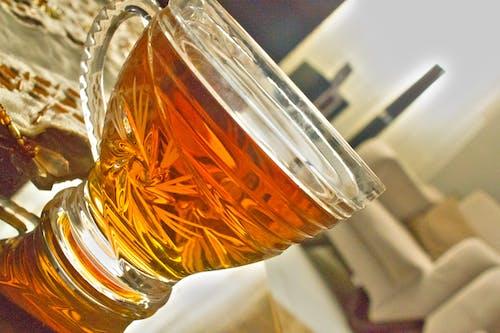 Free stock photo of afternoon tea, black tea, close